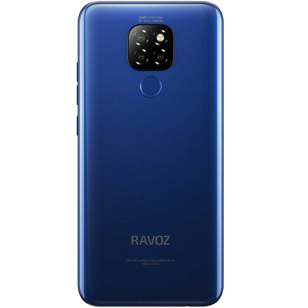 Ravoz Z3 Pro Dual SIM 3GB RAM 32GB Storage 4G LTE, Mazarine Blue