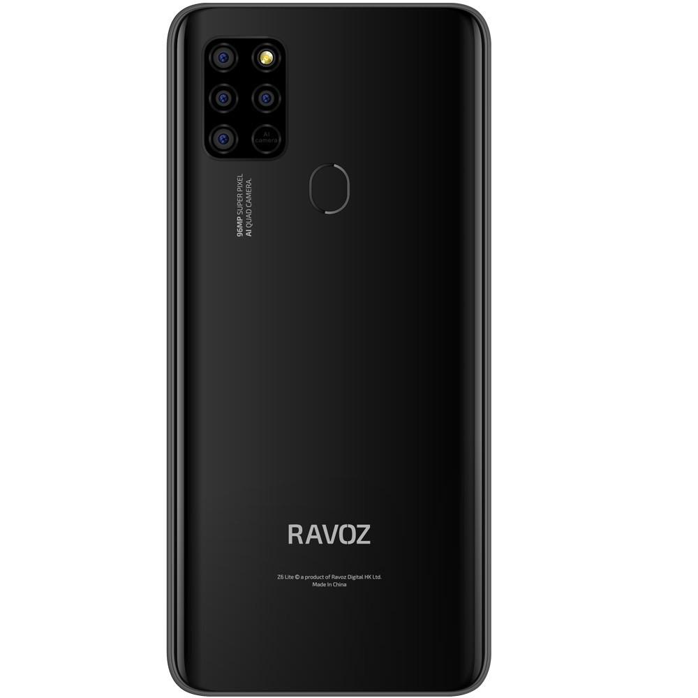 Ravoz Z6 Lite Dual SIM 4GB RAM 64GB Storage 4G LTE, Black