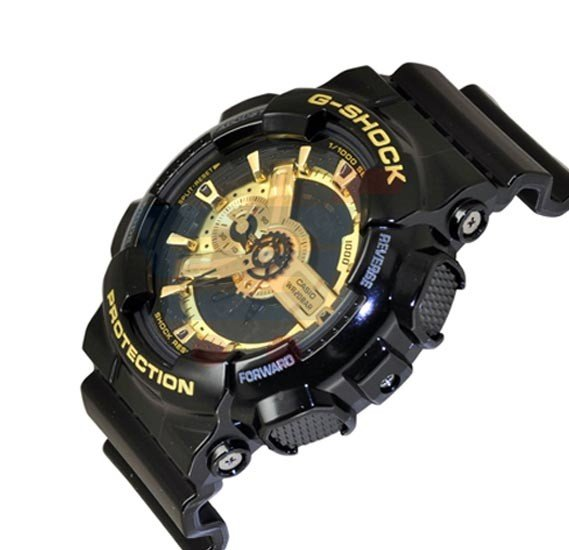 Casio G-Shock Analog/Digital Watch For Men, Black-GA-110GB-1ADR