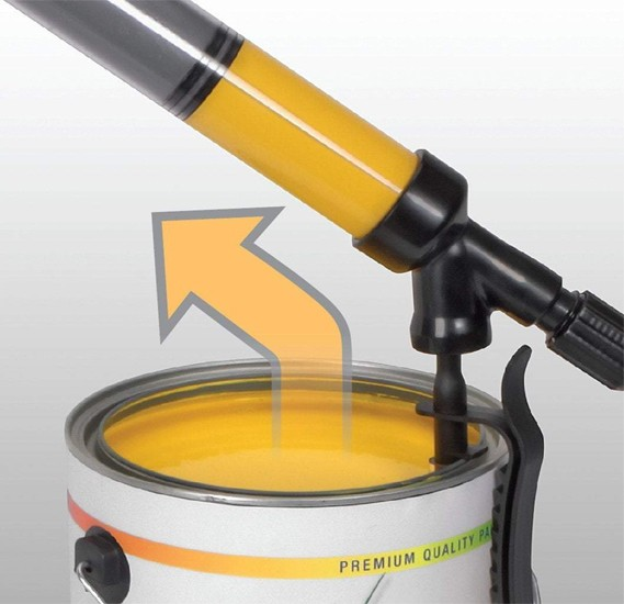 PaintStick - The Fast Paint Roller That Holds the Paint in the Handle
