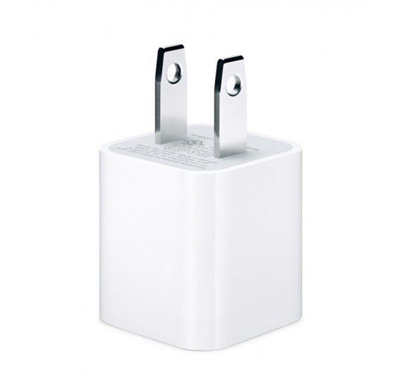 Apple Power Adapter 5W - 2 Pin USA,MD810