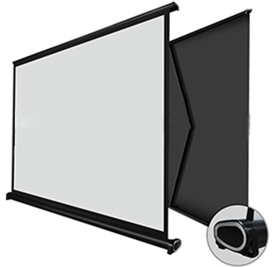Portable 30inch Projector Screen with Pull Up Foldable Stand Tripod