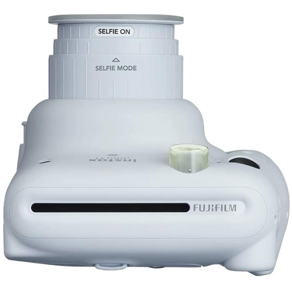 Fujifilm Instax Mini 11 Instant Film Camera with 60mm f/12.7 Lens, Ice White