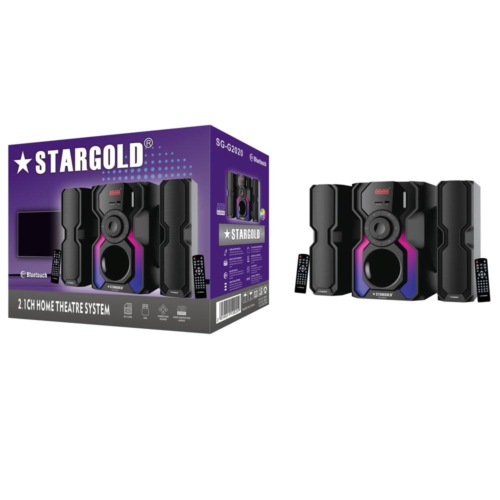 Stargold 2.1ch Multimedia Speaker System, SG-G2020