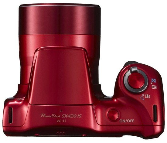 Canon PowerShot SX420 IS - 20 MP Compact Camera, Red