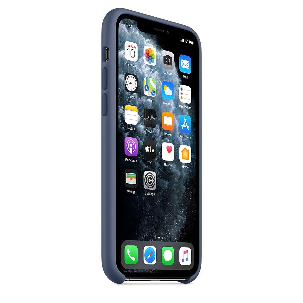 Apple IPhone 11 Pro Silicone Case MWYR2ZM/A -Alaskan Blue