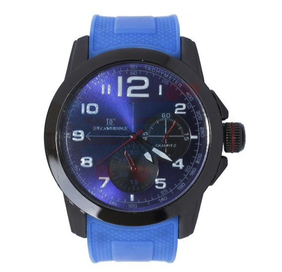 Decambridge Analog Watch For Men Blue Black - 7553C