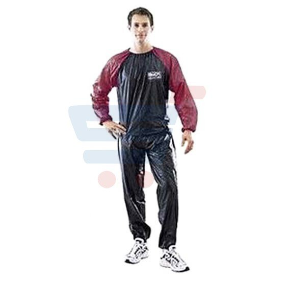 Body Sculpture Vinyl Sauna Suit - SOLX-BJ-010BR-B