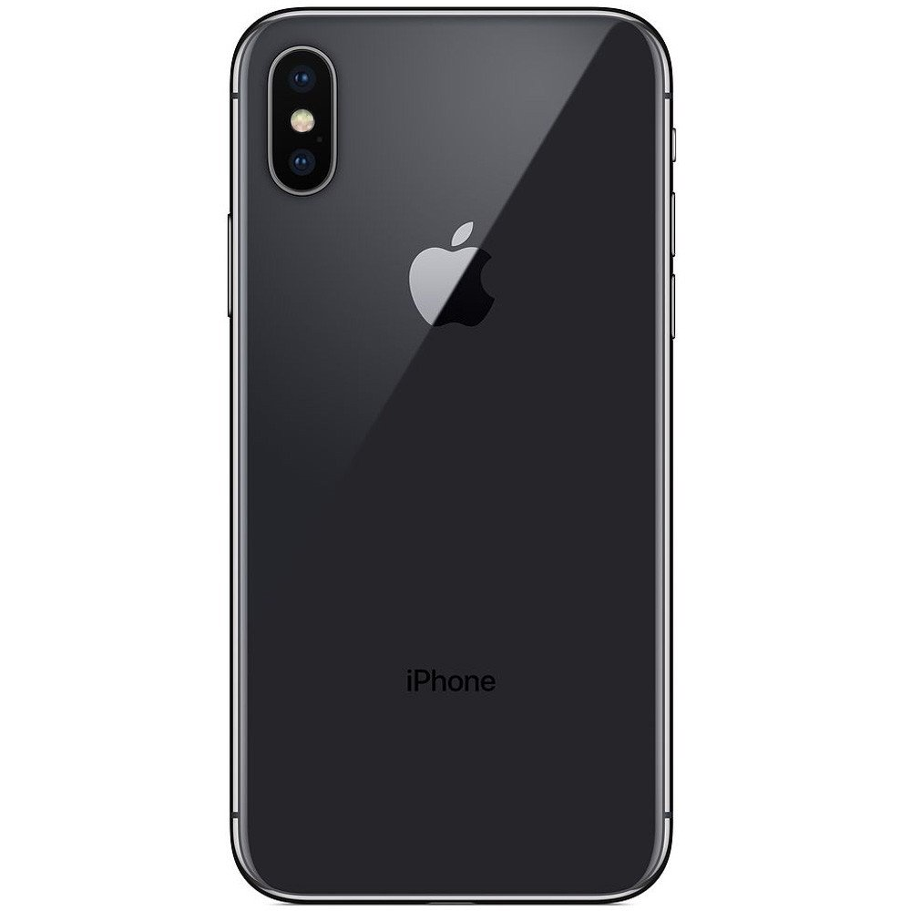 Apple iPhone X, 3GB RAM 256GB Storage, 4G LTE, Black - Refurbished