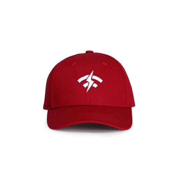 Generic Hip-Hop Unisex Cap,Red