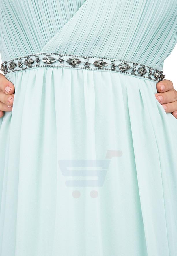 TFNC London Rio Maxi Evening Dress Mint - EG 7910 - M
