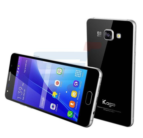 Kagoo A5 Smartphone,4G,Android 5.1 OS,5.0 inch IPS HD Display,1GB RAM,8GB Storage,Dual Camera,Wifi-Black