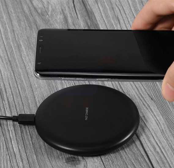 Multi-Color Fast Wireless Charging Pad For All Qi Supported Smartphones, KC-N5