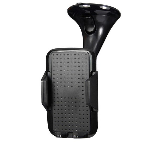 Promate Universal Car Mount Mobile Grip Holder with Suction Cup - Mount Black