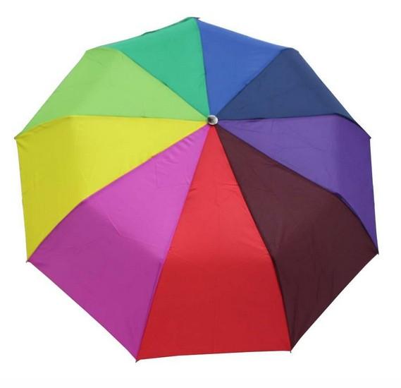 Hello Sun and Rain Stopper 3 Fold Automatic Open Windproof Umbrella