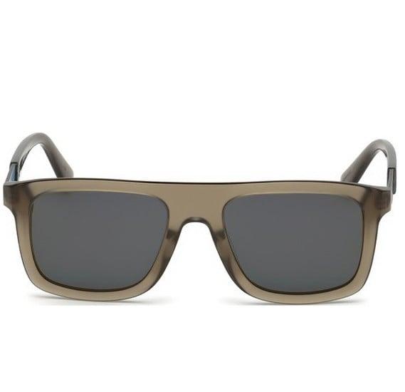 Diesel Sunglass DL0268 45C For Men SG-Shiny Light Brown Mirror, Size 52