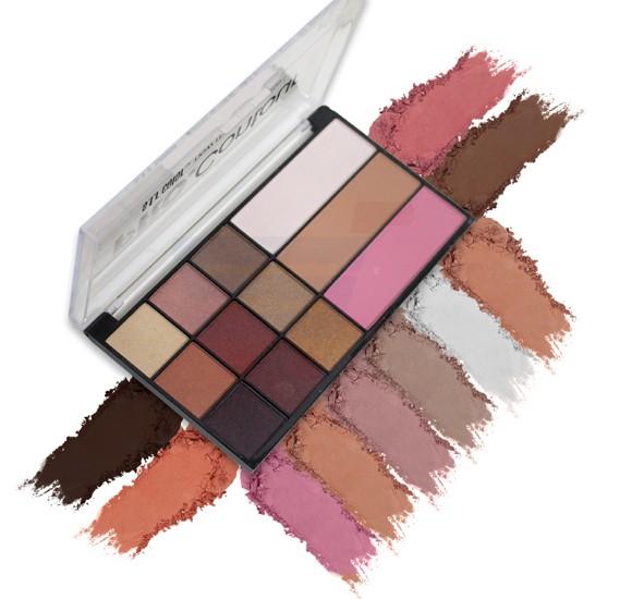 SFR Color Professional Contour New Makeup Palette Colors 01 - 6729