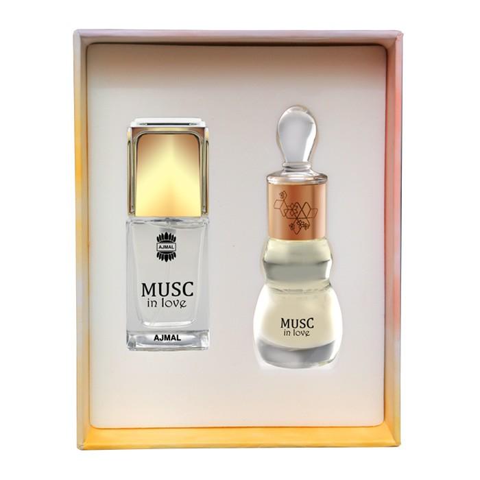 Ajmal Perfume Musc in love,Unisex Gift Set,6293708010813, 14 ml