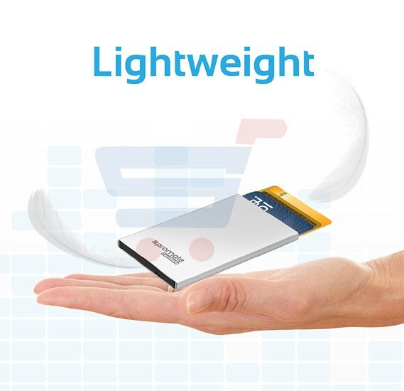 Buy promate rfid safe card case online dubai uae ourshopee 17508 promate rfid safe card case rfid blocking credit id card holder aluminium wallet case for reheart Choice Image