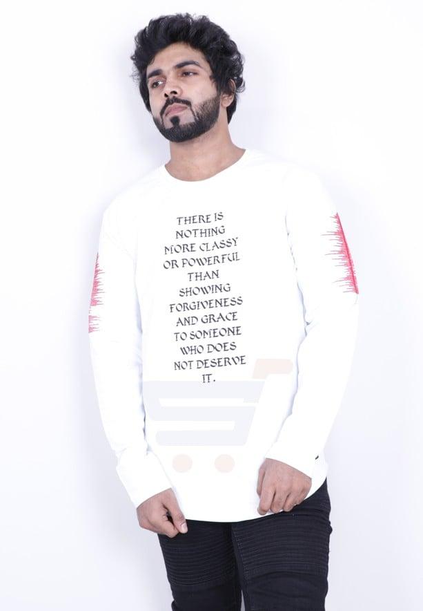 5fe522721 Buy Saw Mens Full Sleeve Tshirt White - 1013 - XXL White Online ...