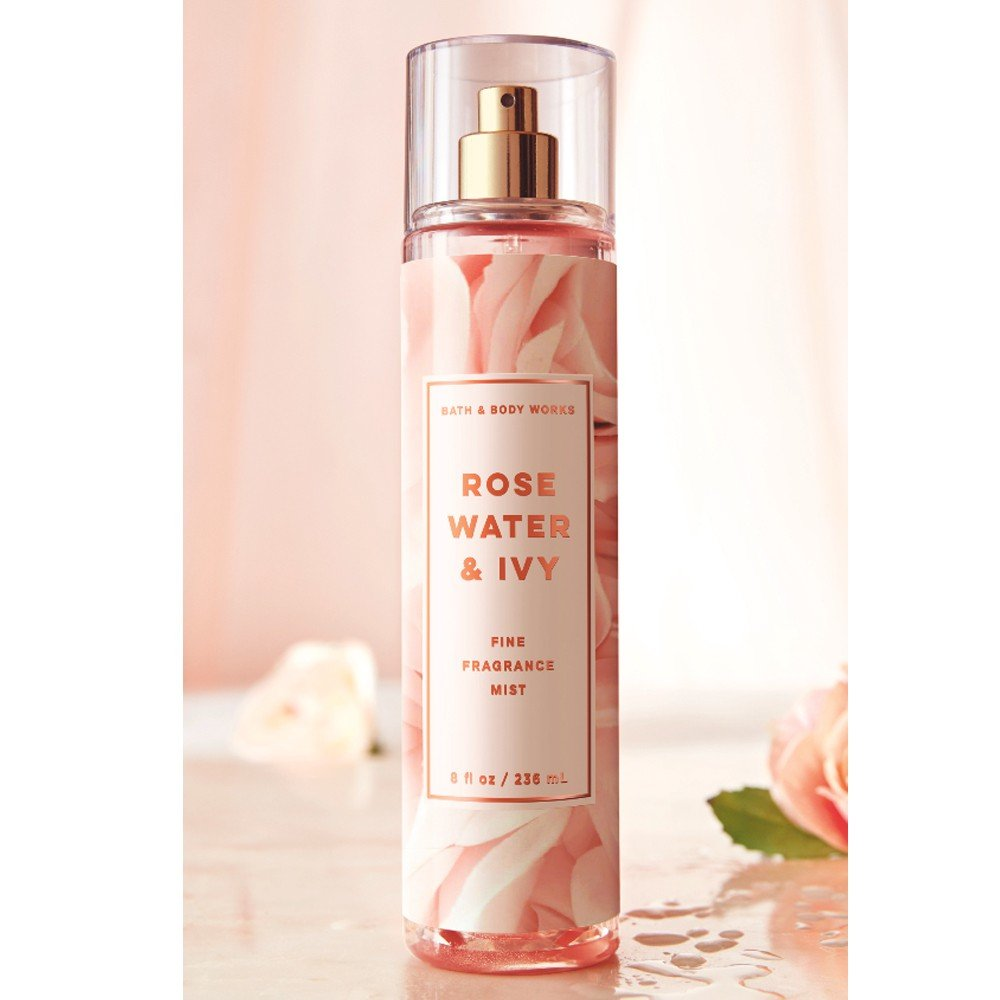 Bath and Body Works Rose Water and Ivy Fine Fragrance Mist