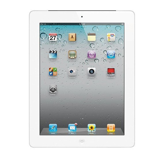 Apple iPad 2 9.7 Inch Tablet, iOS 4, 512MB RAM, 16GB Storage, Dual Camera - Silver Refurbished