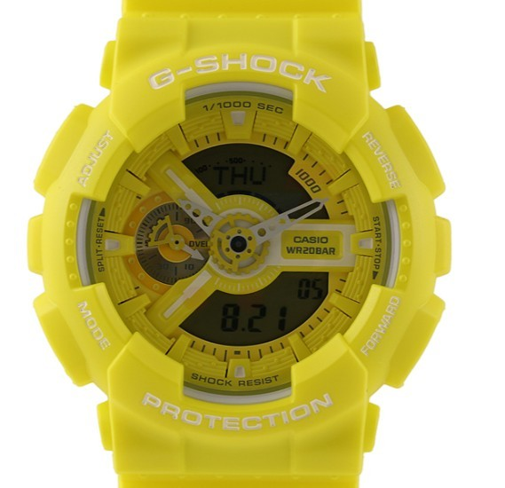 Casio G-Shock GA-110BC-9ADR Yellow Analog Digital Watch