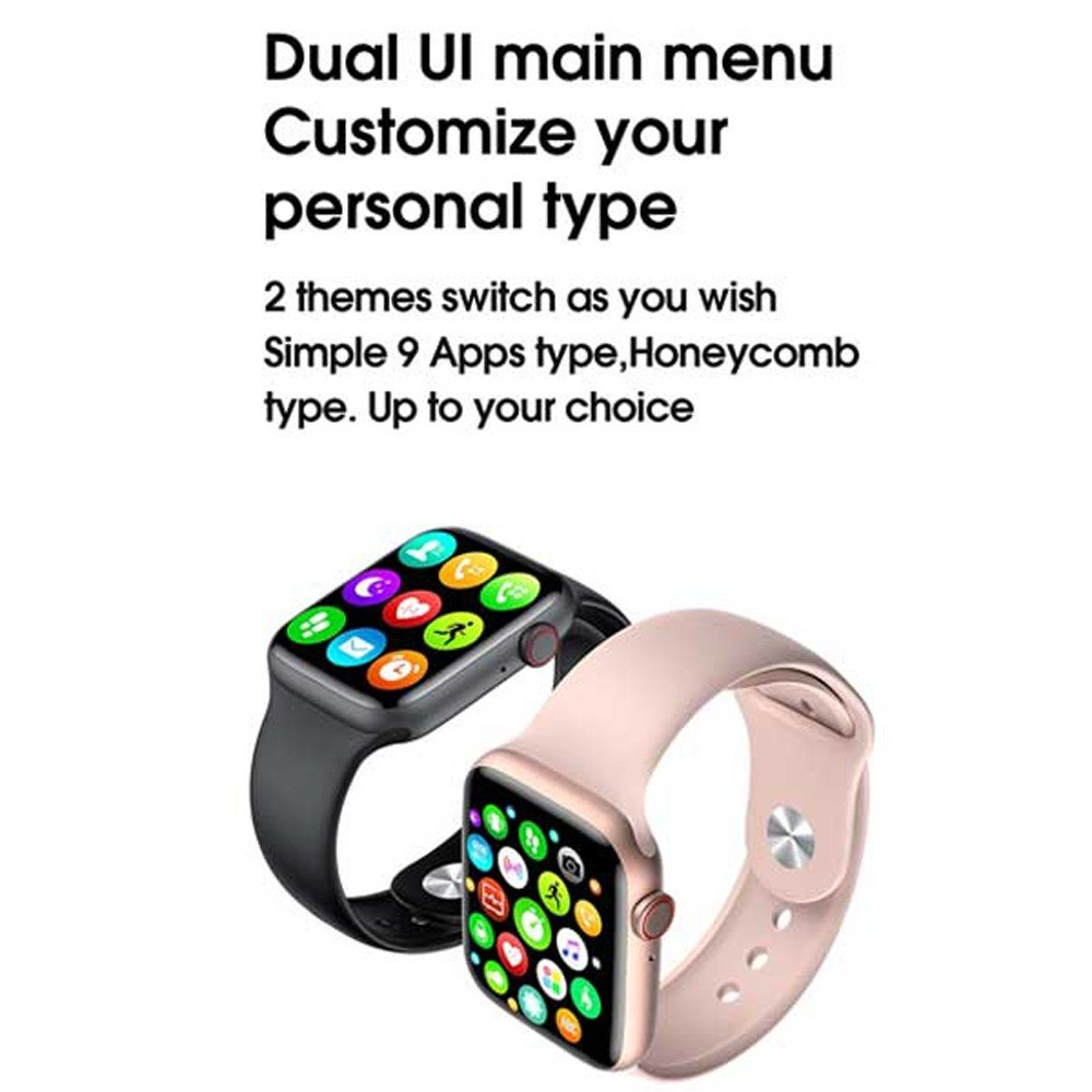 W26 Plus Smartwatch Full Screen Assorted Colour