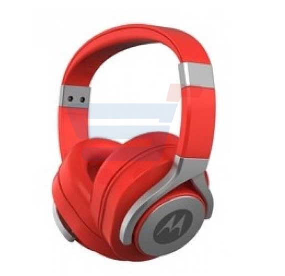 Motorola Pulse Max Wired Headset Red