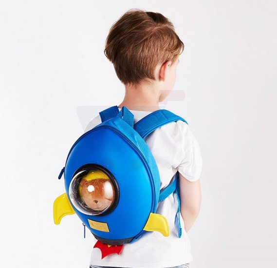 Sunveno Star Wars Rocket Backpack Blue