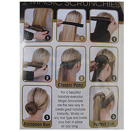 Perfect Bun Classic Pony Bun Tail Maker
