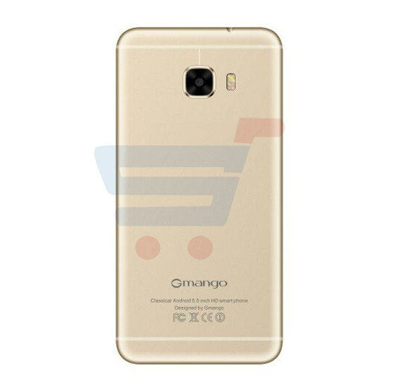 Gmango C7 Smartphone, 4G, 5.5 inch HD Display, Android 6.0, 2GB RAM,32GB Storage, Quad Core, Dual SIM, Dual Camera,Dual Flash-Gold