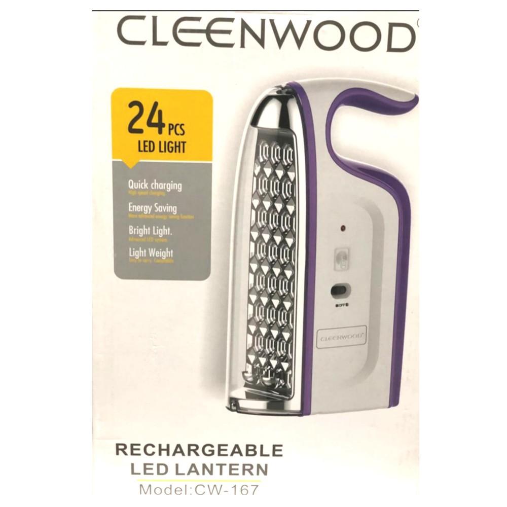 CleenWood Rechargeable LED Lantern 36pcs LED light, CW-168