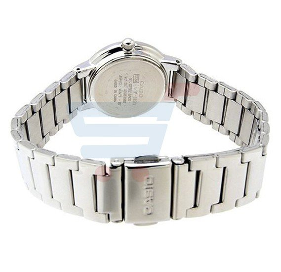 Casio LTP-1191A-4A2 Ladies Stainless Steel Band Watch