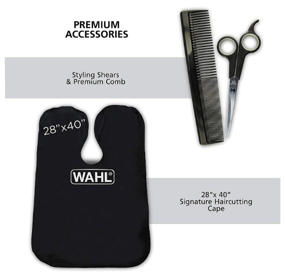 WAHL Elite Pro High Performance Haircut Kit