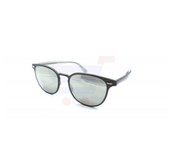 Oliver Peoples Wayfarer Gunmetal Frame & Silver Mirrored Sunglasses For Unisex - 1179S-52286G