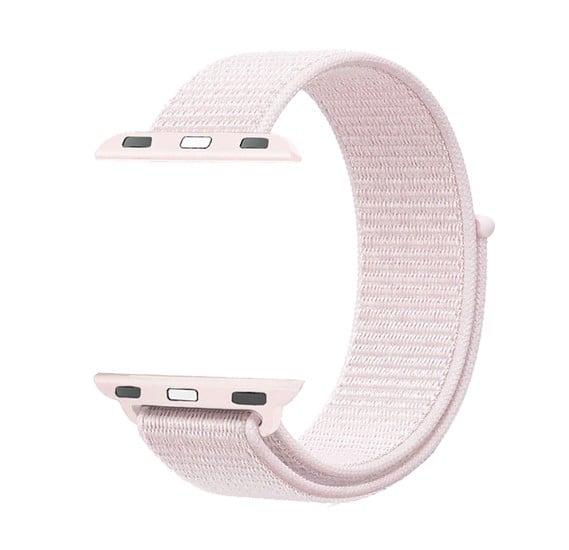 Promate Fibro-42 Nylon Sports Wrist Strap, Light Pink