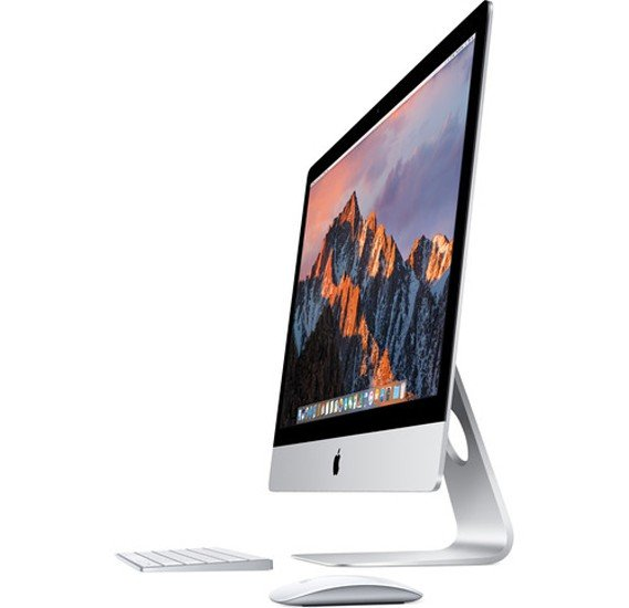 Apple iMac Silver i5 3.4 Quad Core 8GB 1TB FD Radeon PRO 570 with 4GB 5K Retina P3 27