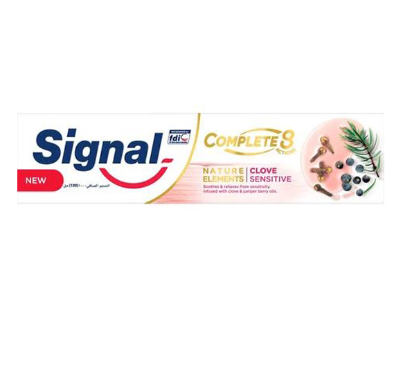 Signal Complete 8 Clove Sensitive Toothpaste, 100ml