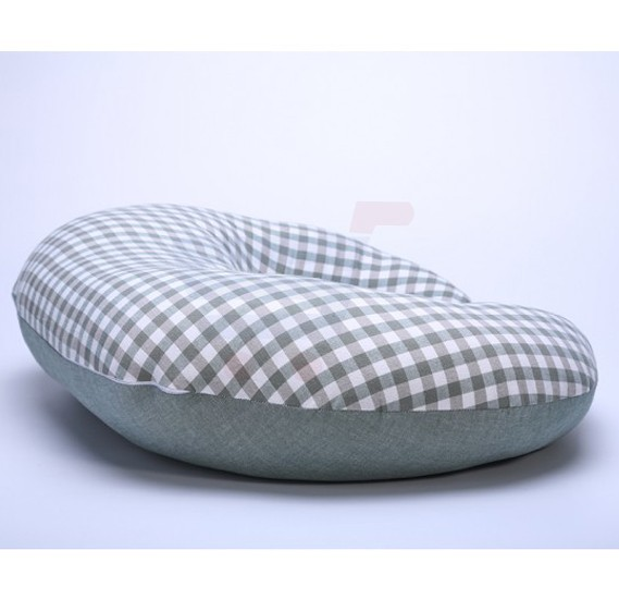 Sunveno Pregnancy and Feeding Heart Pillow Organic Cotton Green