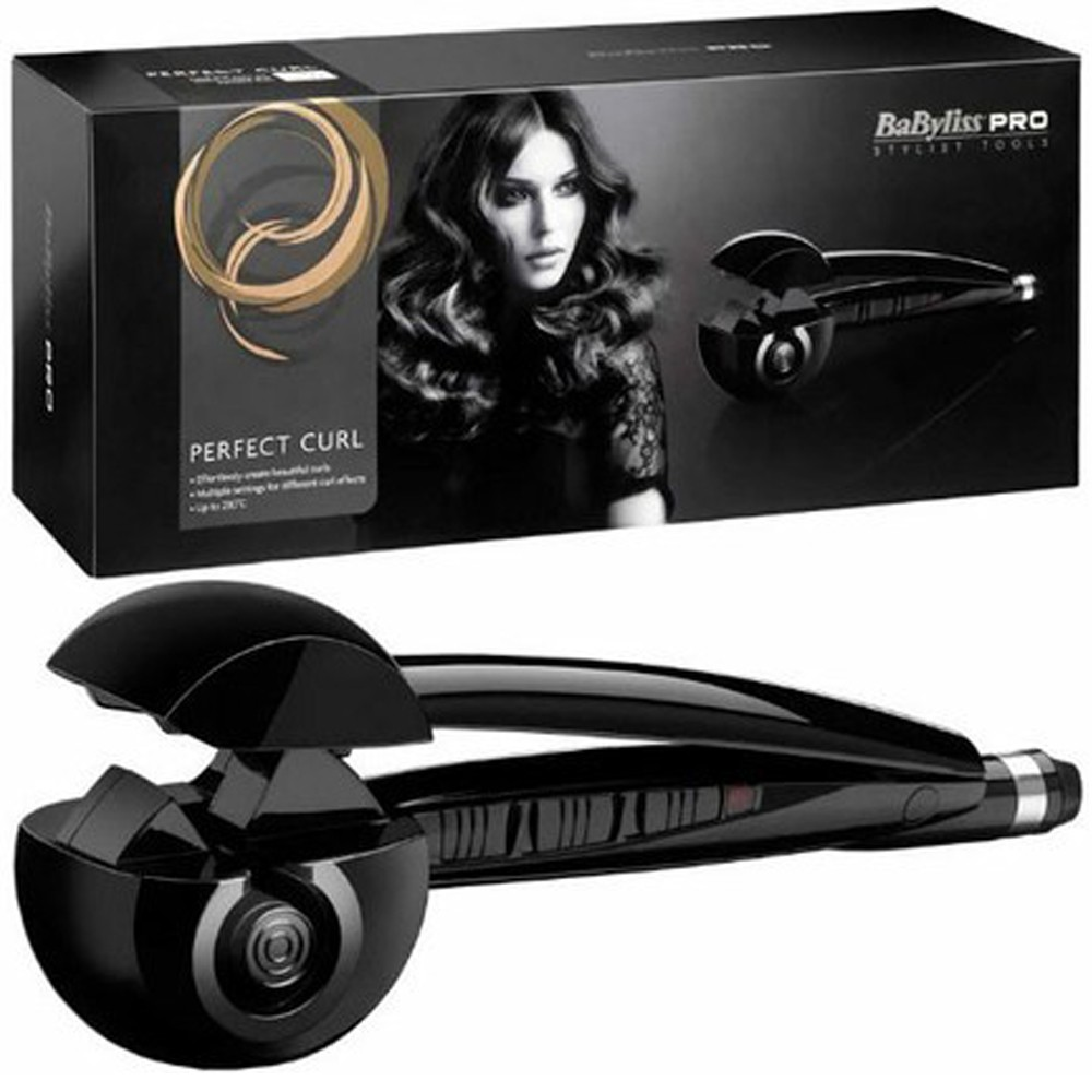 Babyliss Pro Auto Technology Secret Hair Curler with Revolutionary Tool, Black