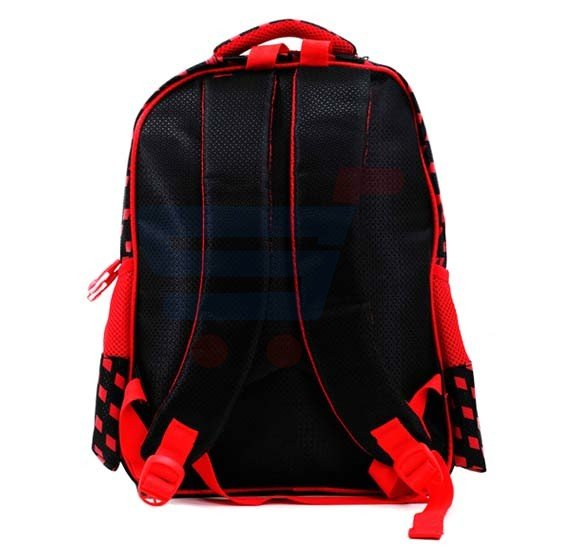 Para John 16 Inch School Bag, Red- PJSB6026