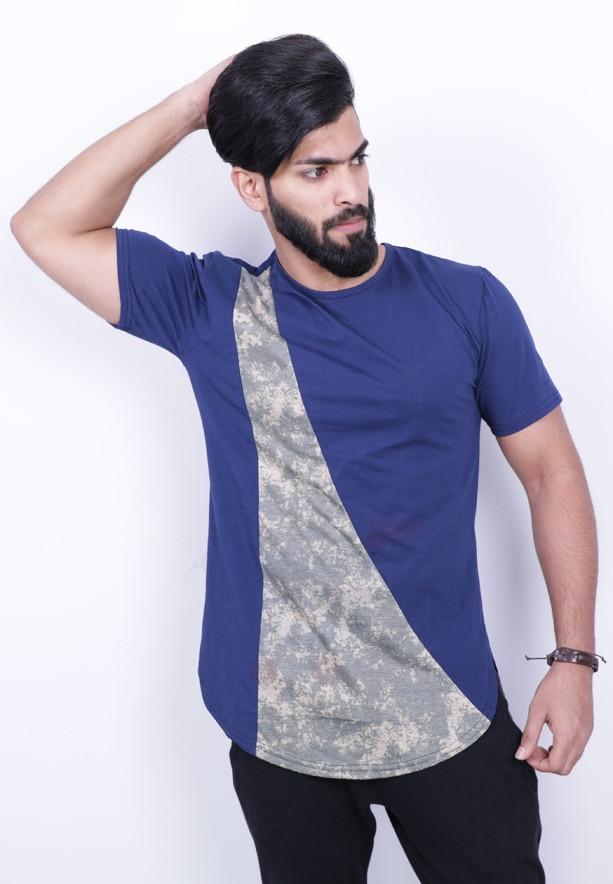 Nansa Mens Tshirt Blue - NAABF15514X - M