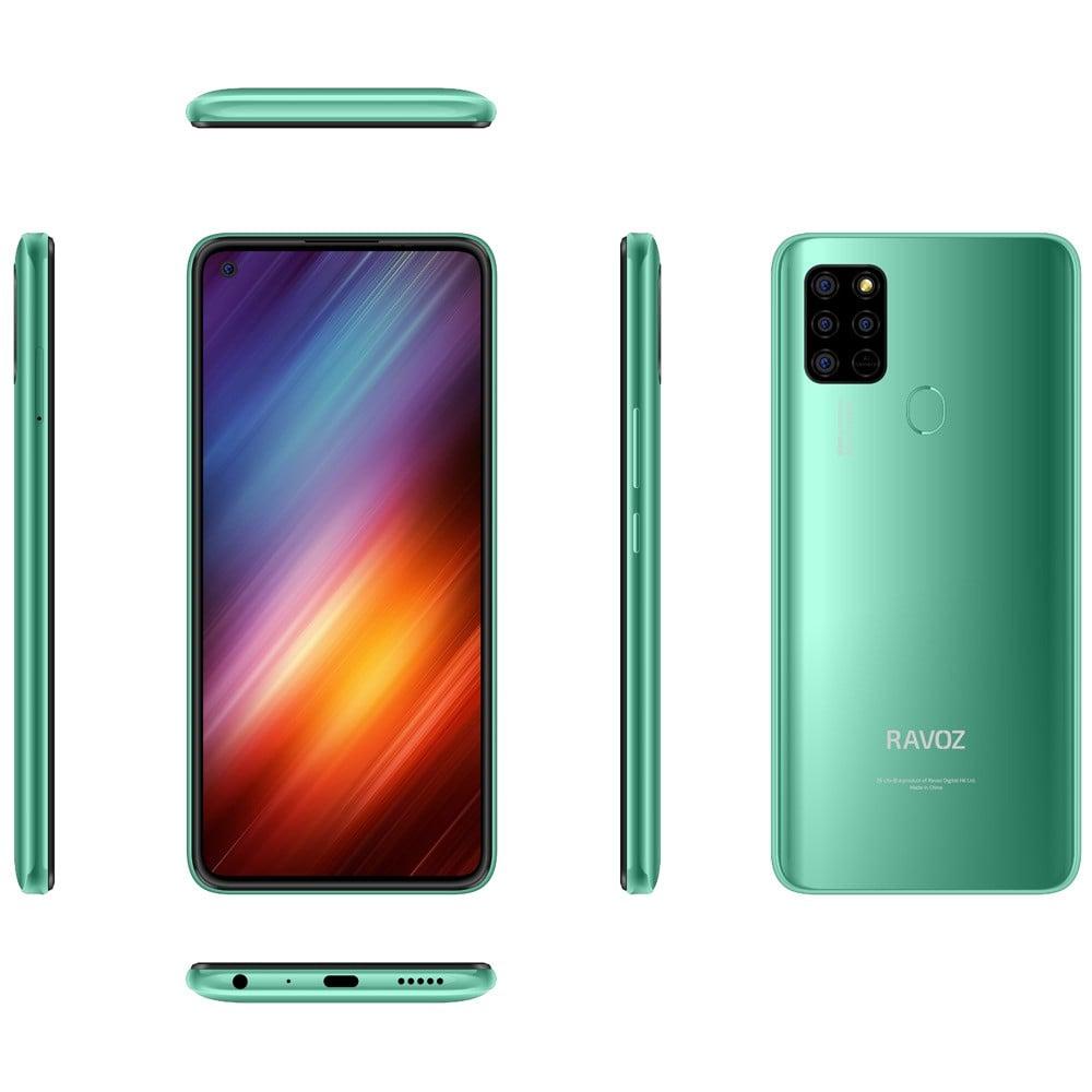 Ravoz Z6 Lite Dual SIM 4GB RAM 64GB Storage 4G LTE, Vivacious Green