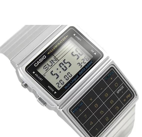 Casio Mens Data Bank Digital Watch DBC-611-1DF (CN)
