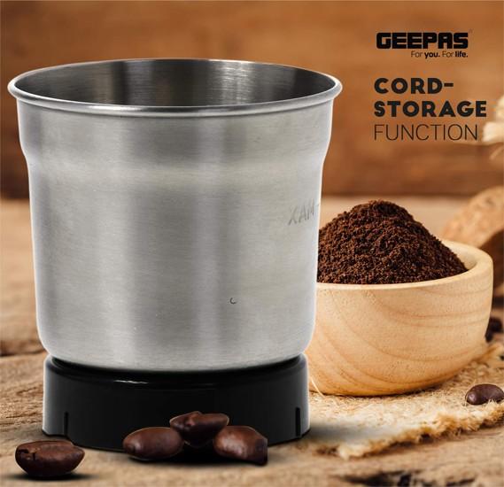 Geepas Gcg41011Uk Coffee Grinder
