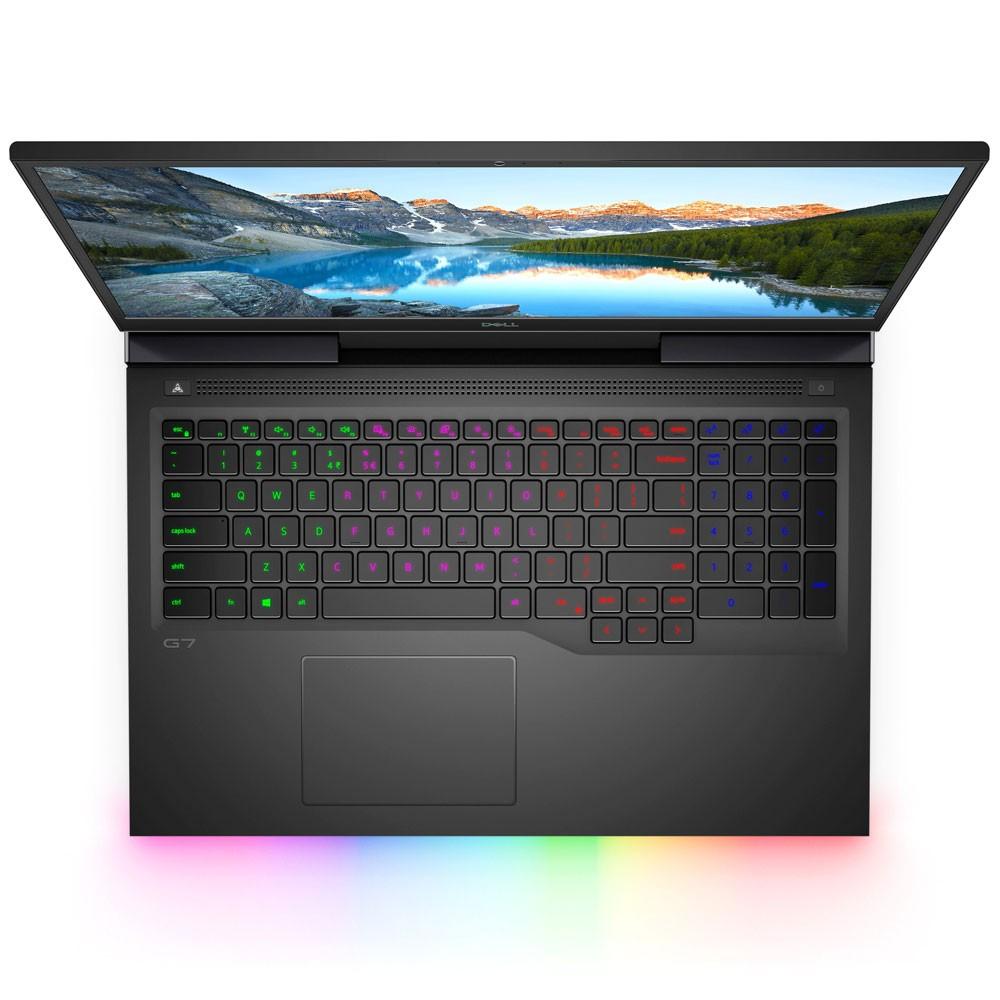 Dell G7 Notebook, 17.3 inch Full HD Display Core i7 10th Gen Processor 32GB RAM 1TB SSD Storage 2070-8GB Graphics Win10, Black