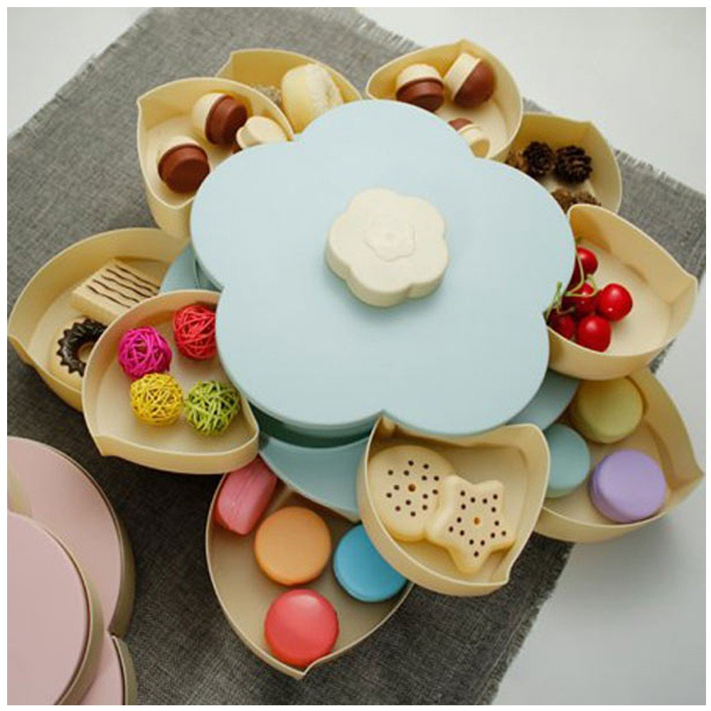 Pattern Rotating Candy Box, Assorted
