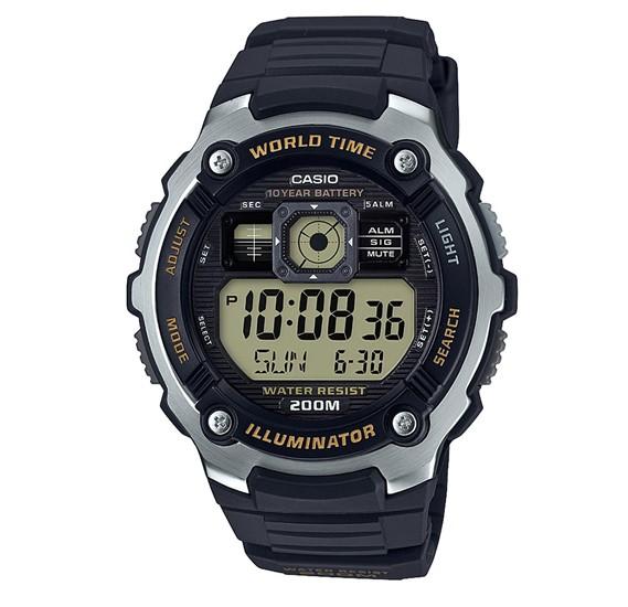 Casio AE-2000W-9AVDF Youth Combination Digital Black Dial Mens Watch