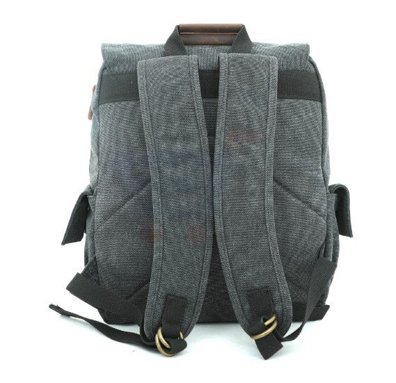 Para John Canvy Backpack Black - PJBP6611